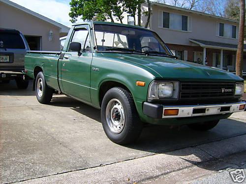 1980 toyota truck 2wd